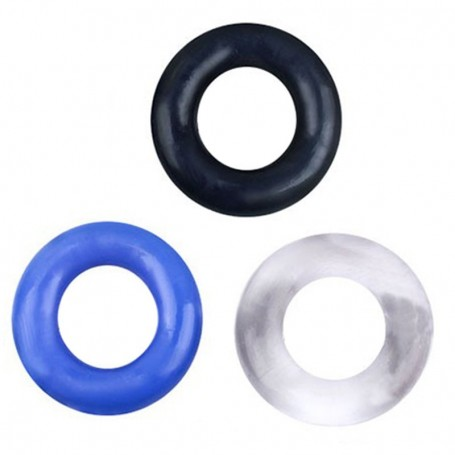 Silicone Penis Ring Reusable Condom DSBCR-011