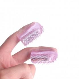 Finger Vibrator Nipple Clitoris Stimulator DSBNCV-004