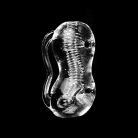 Transparent Male Masturbator For Men Penis Trainer Time Delayed Soft Vagina DSBMMT-018